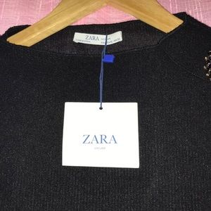 Zara Circular Oversized Sweater